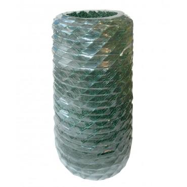 Diagonalgeflecht dunkelgrün plastifiziert