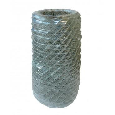 Diagonalgeflecht anthrazit plastifiziert