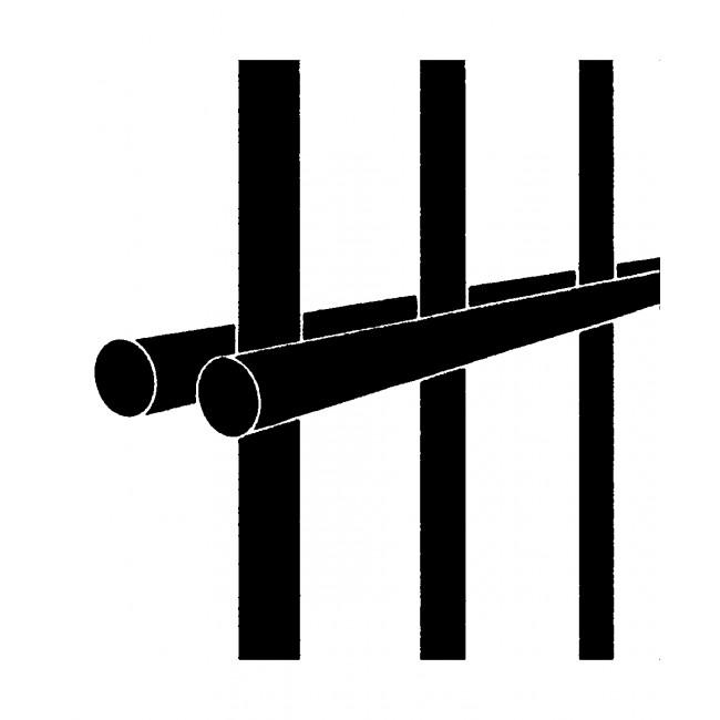 Zaunelemente Stahl Verzinkt Leicht