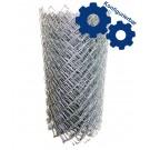 Diagonalgeflecht aus Aluminiumdraht