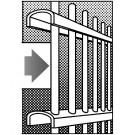 Zaunelemente Stahl verzinkt