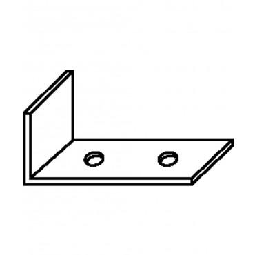 Angle de contrefiche galvanisé