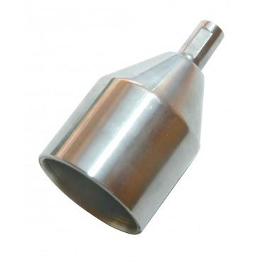 Pointe de traverse en aluminium