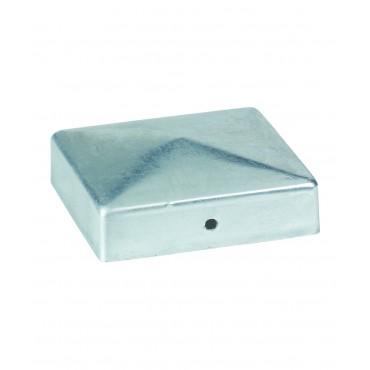 Capuchons forme carrée galvanise