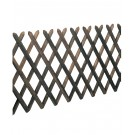 Elément de clôture à ciseaux en sapin