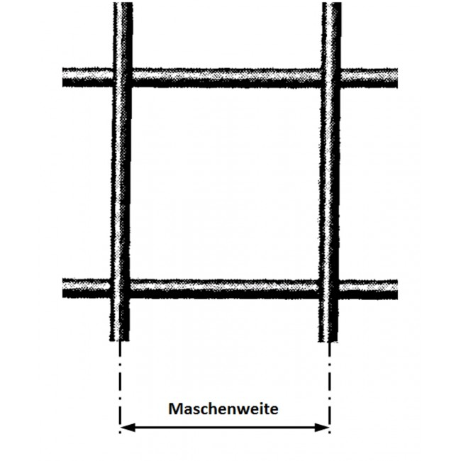 treillis soud en fil de fer galfan mailles carr es. Black Bedroom Furniture Sets. Home Design Ideas