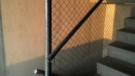 Handlauf in Treppenhaus mit Diagonalgeflechtfüllung-BIAUS-HSB-MM-130020500000-131205-01